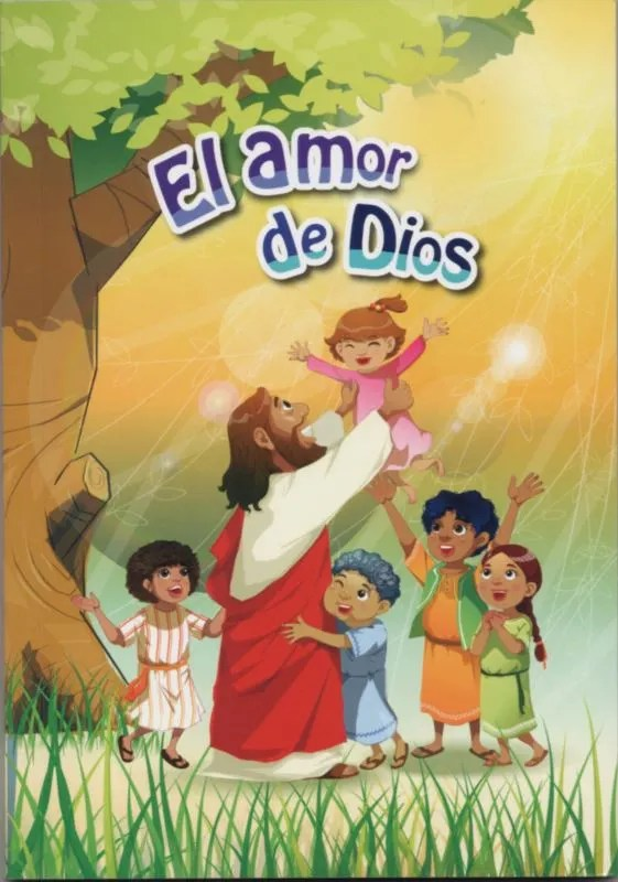 Libro el amor de Dios para niños historias biblicas