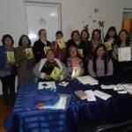 Voluntarias «mensajeras» de Concepción tuvieron una capacitaron