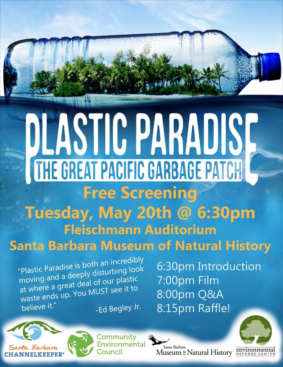 "Free Screening Of ""Plastic Paradise"" Santa Barbara"