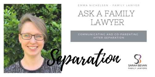 Co-parenting after Separation - Family Lawyer Sydney