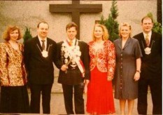 1996: S. M. Wolfgang I. Schlabbers mit Nicole