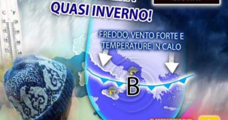 Freddo e pioggia sull'Italia, poi torna il sole: dove e quando