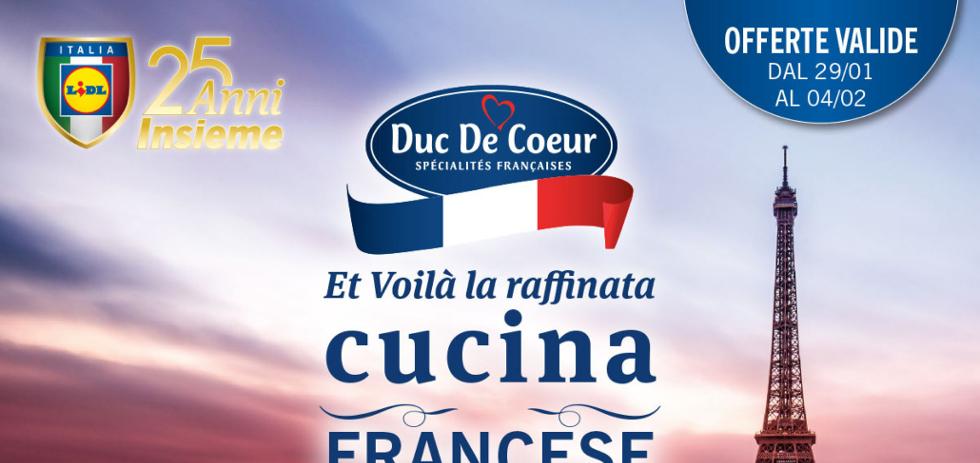 Volantino Lidl Et voil la raffinata cucina francese dal