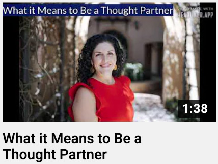 What it Means to Be a Thought Partner