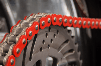 A Motorcycle Chain