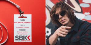 A picture of Juan Manuel Fernández, SBK Official Mobile Game's Soundtrack Producer