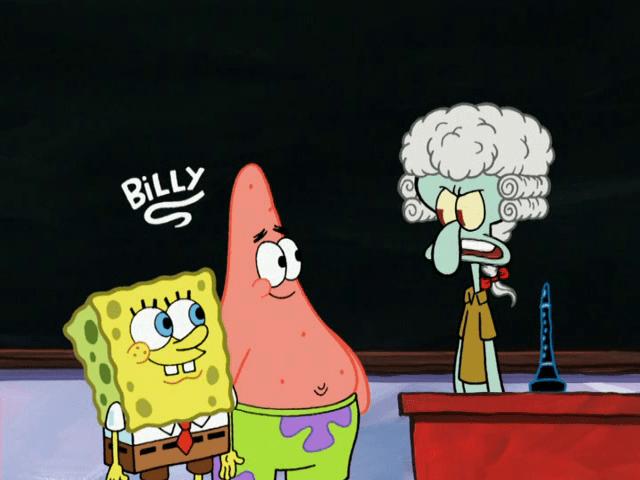I Am Sorry Wallpapers With Quotes Spongebuddy Mania Spongebob Episode Professor Squidward
