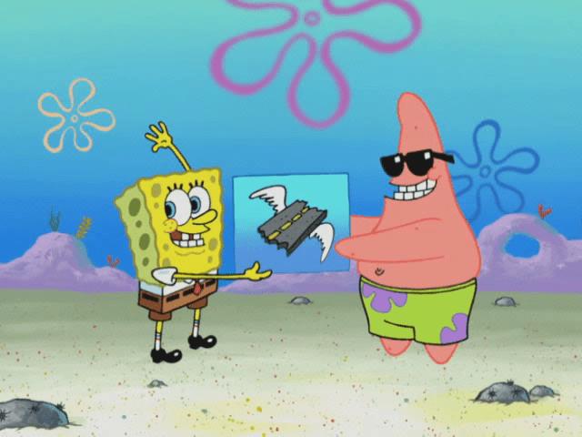 SpongeBuddy Mania  SpongeBob Lyrics  Give Jellyfish