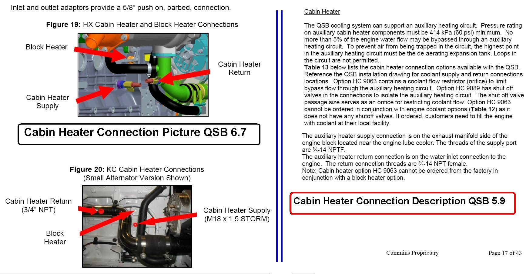 hight resolution of cabin heater connection ports for qsb 6 7 qsb 5 9 seaboard marine rh sbmar com