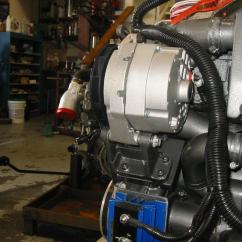 Delco 12si Alternator Wiring Diagram Yanmar Replacement On A Marine