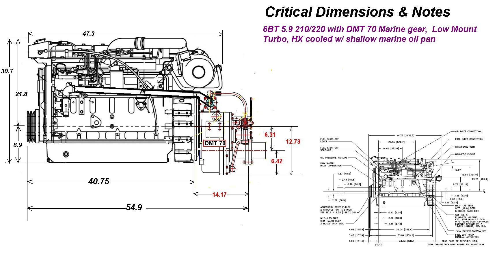 Detroit Diesel Marine Engine Diagram Boat