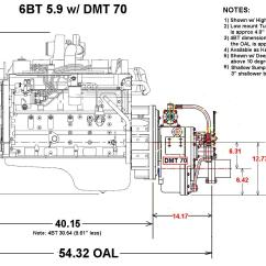 Cummins Wiring Diagram Of Teeth And Their Numbers Heavy Duty Commercial Grade 6bt 210 Marine Engine