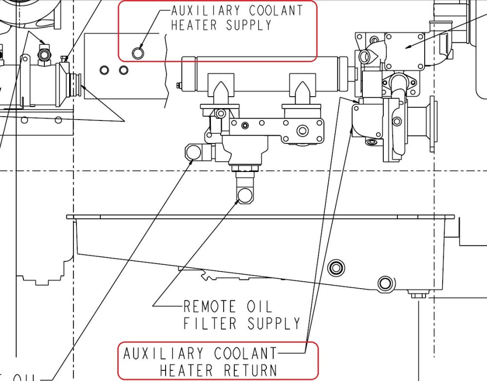 medium resolution of qsm 11 heater supply ports