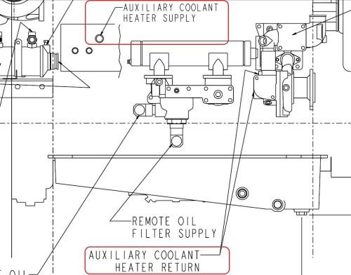 small resolution of qsm 11 heater supply ports