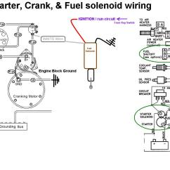 Wiring Diagram Relay Starter Motor Structure Of The Earth To Label Crank And Fuel Shutoff Solenoid Seaboard