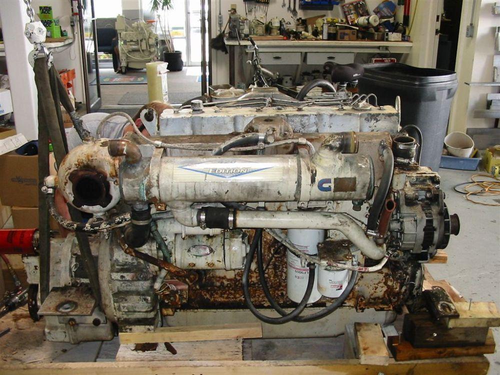 medium resolution of a low hour engine
