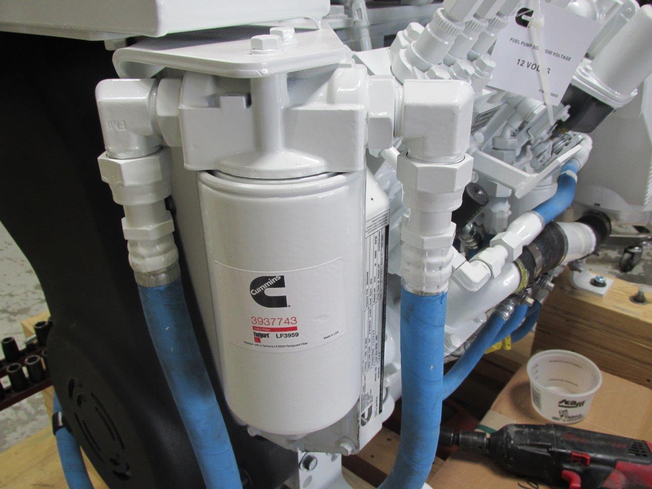 hight resolution of remote oil filter kit for cummins marine 6bta seaboard marineremote oil filter kit