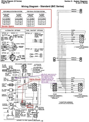 6BTA 59 & 6CTA 83 Mechanical Engine Wiring Diagrams