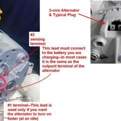 Delco Alt Wiring Diagram 2016 Ford Focus Radio Cummins Marine Style Alternators Identification