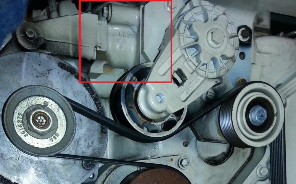 medium resolution of  belt wrap and thermostat location on the cummins marine 6bta