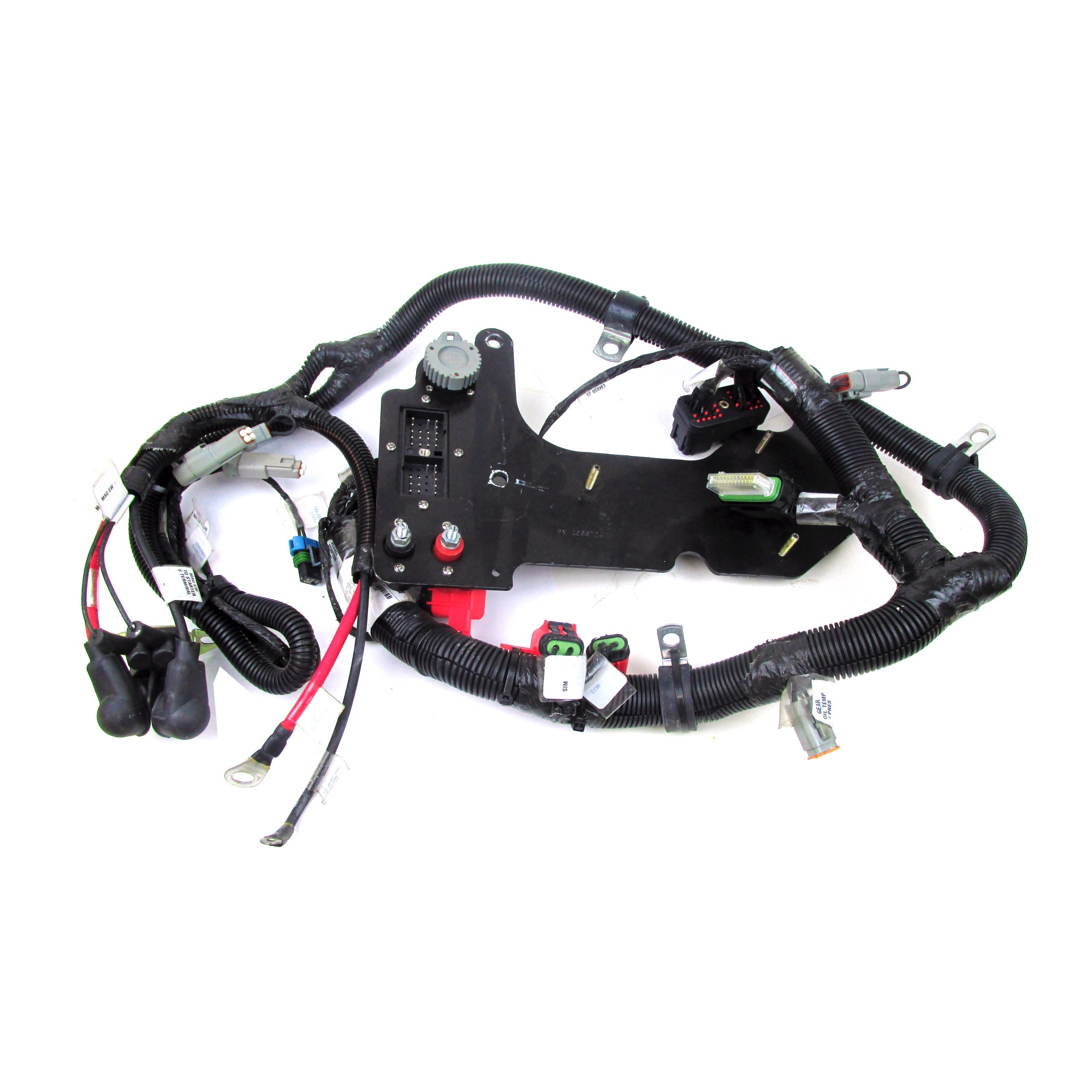 hight resolution of cummins marine cm850 qsc qsl smartcraft harness 4996703