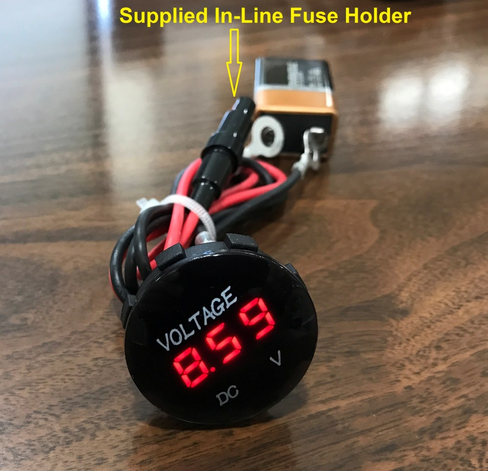 medium resolution of battery terminal voltage by means of a digital voltmeter wired direct to the battery allows you to always see what is happening throughout your charging