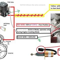 12 Volt Wiring Diagram For Boats Yamaha Atv Solenoid Fuel Shutoff 101 - Seaboard Marine