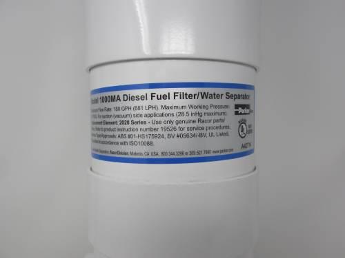 small resolution of racor 1000ma marine turbine fuel filter water separator