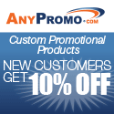 AnyPromo promotional items