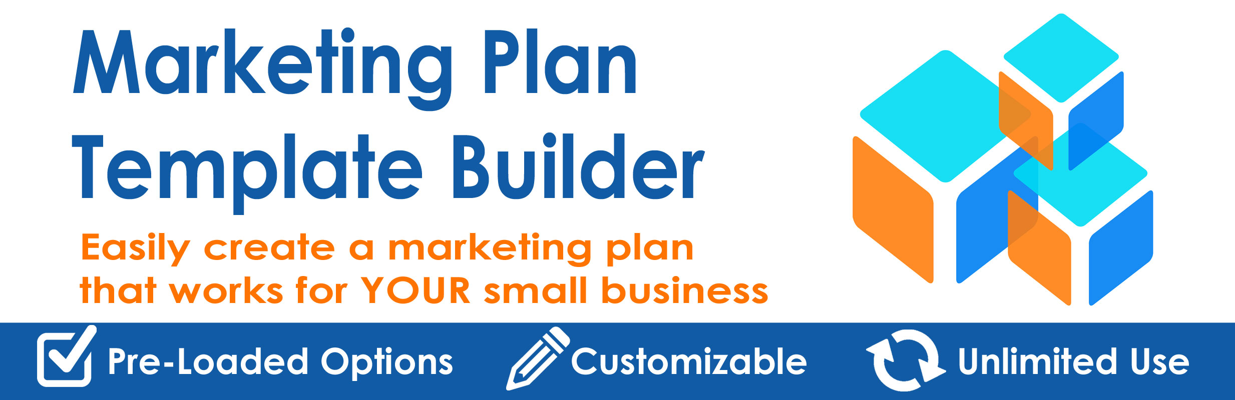 Marketing Plan Template Builder For Tactics And Budget Plans - Marketing plan for small business template