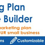 Marketing Plan Template Builder for Tactics and Budget Plans