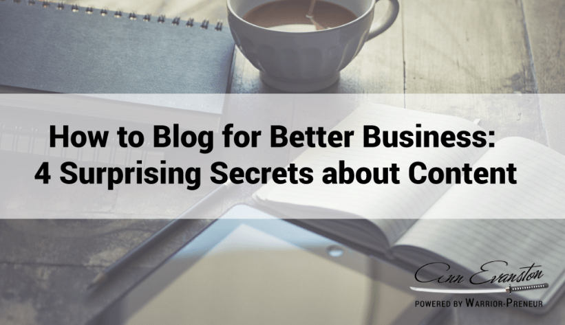 How to Blog for better business