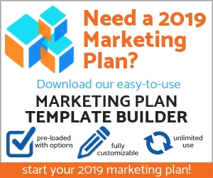Marketing Plan Template For 2019 Small Business Marketing Tools