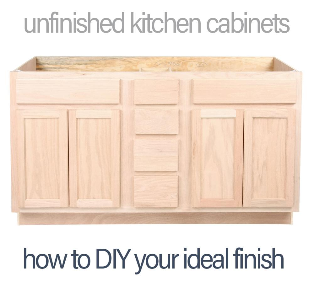 Unpainted Kitchen Cabinets  Wow Blog