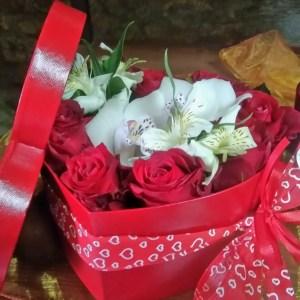 scatola di fiori