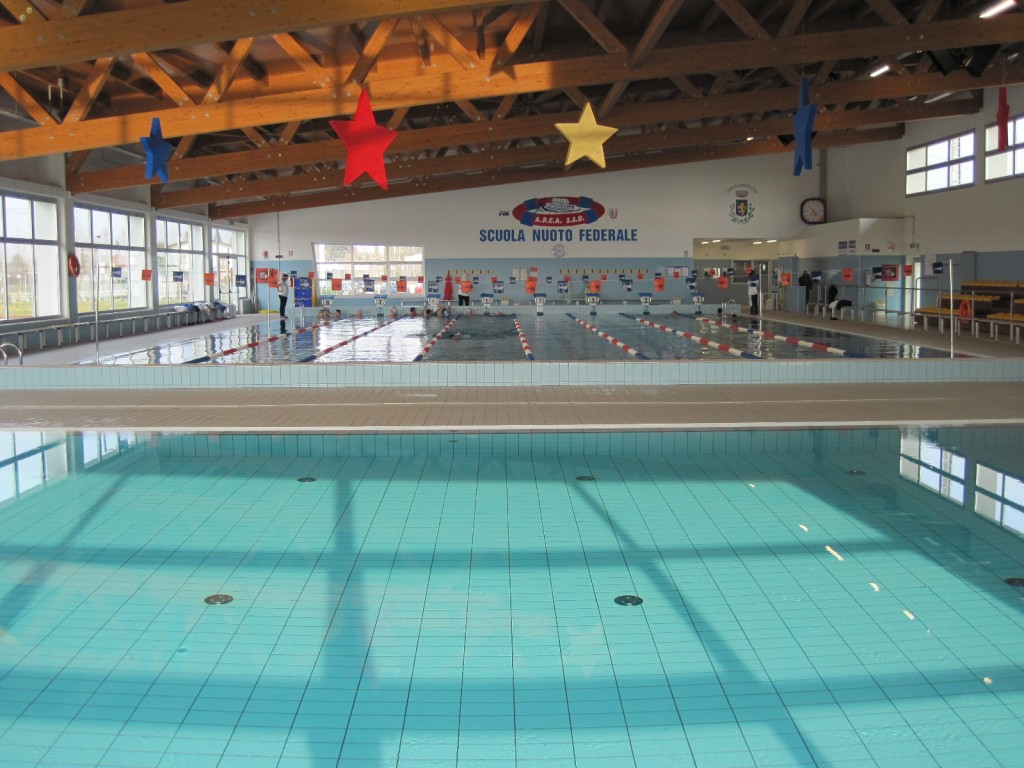 la piscina di Martellago e Maerne  SBR3ATHLON