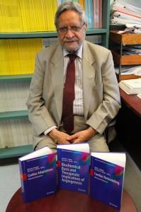Distinguished professor Dhalla co-edits 3 books