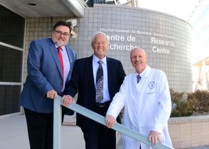 St. Boniface Hospital receives $5 million donation from Paul Albrechtsen