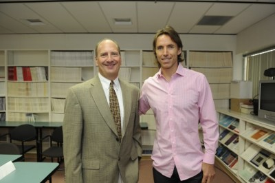 Dr. Albensi and Steve Nash