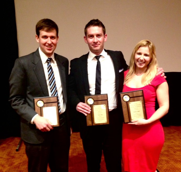 Students take top 3 at Galveston research forum