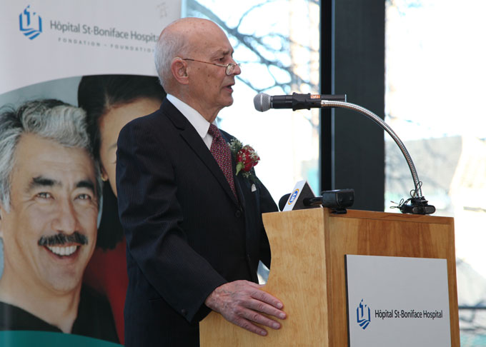 Wyrzykowksi family makes $1 million donation to St. Boniface Hospital Foundation