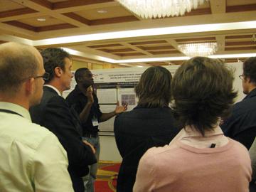Scientific poster presentation