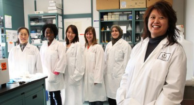 Dr. Anderson lab staff