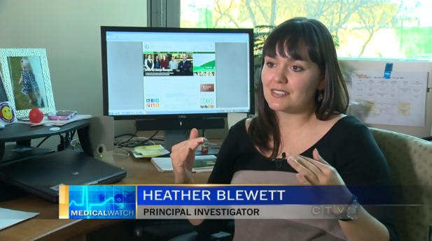 Blewett featured on CTV's Modern Medicine