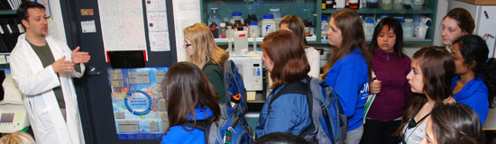 Canada Wide Science Fair students tour Centre
