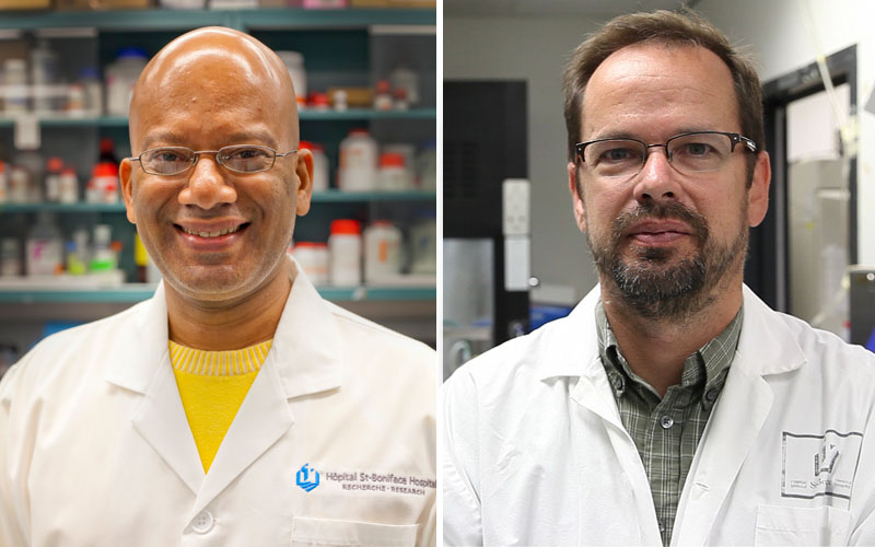 Drs. Netticadan and Wigle