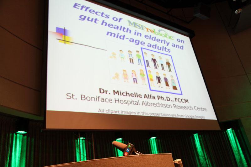 MSPrebiotic celebrates clinical trial success