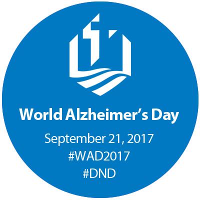 2017 World Alzheimer's Day logo