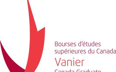 Vanier Scholarship Awarded
