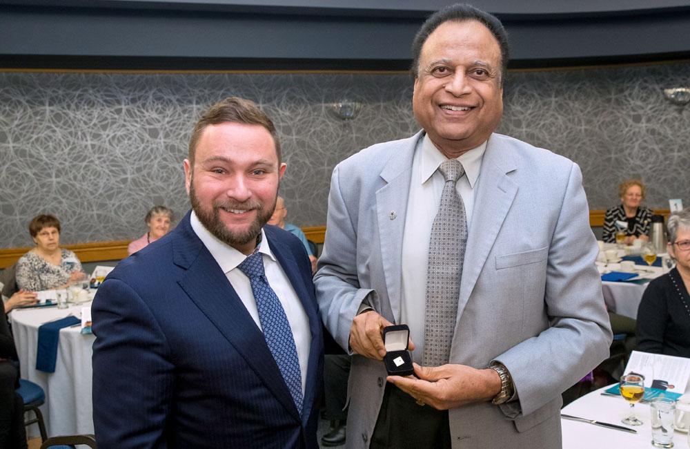 Vince Barletta and Dr. Pawan Singal